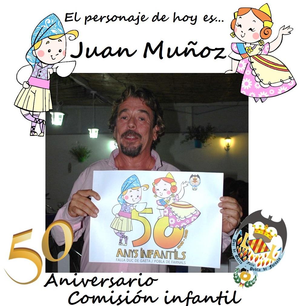 Personaje del día: Juan Muñoz