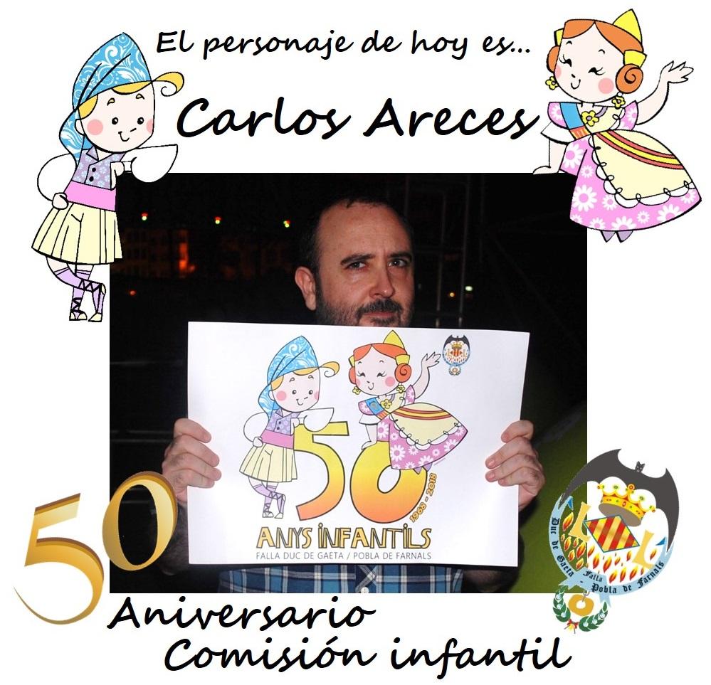 Personaje del día: Carlos Areces