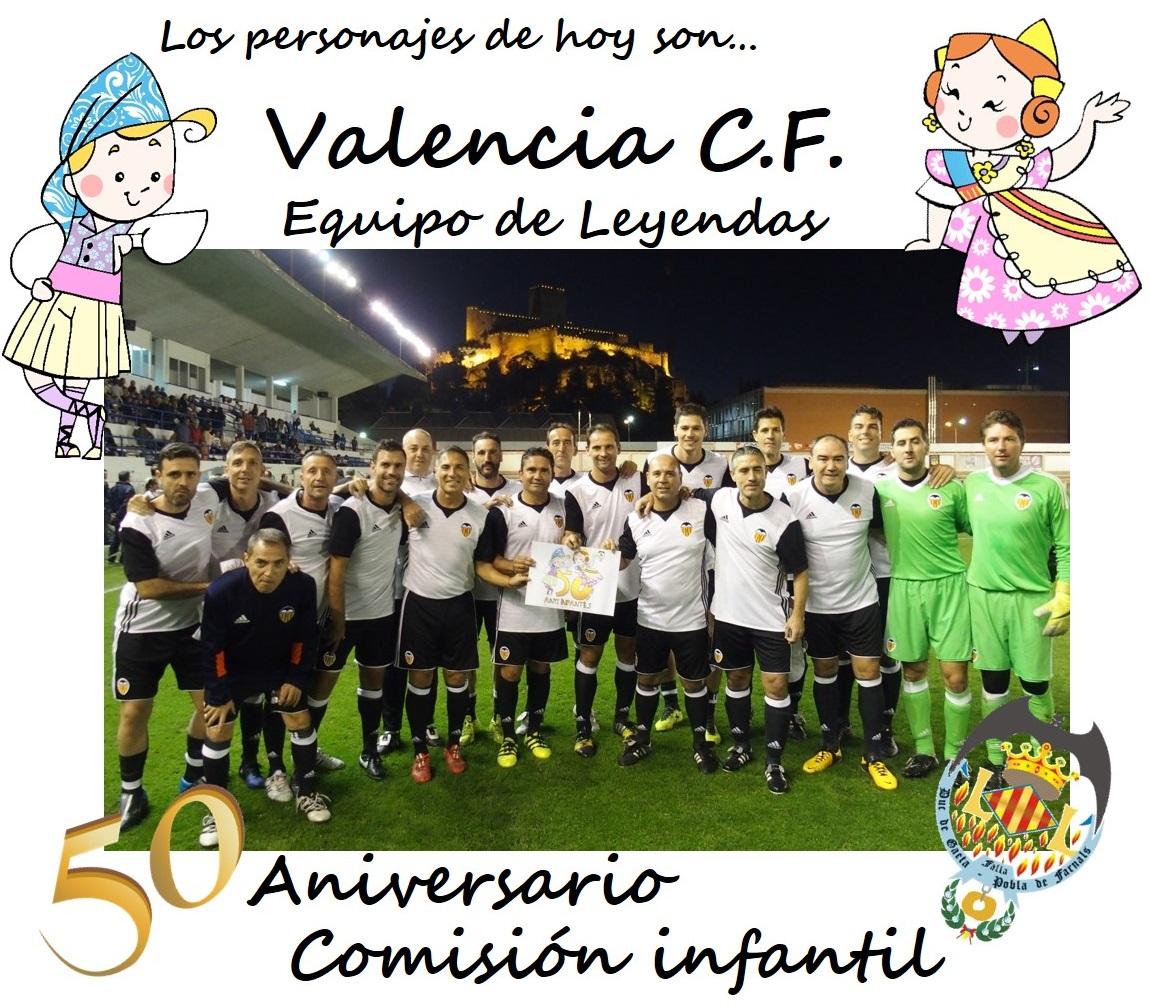 EQUIPO LEYENDAS VALENCIA CF