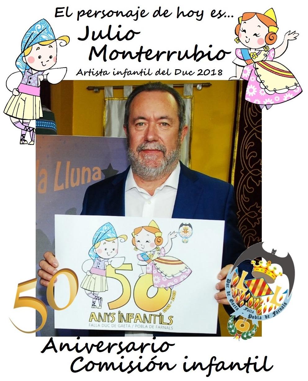 Personaje del día: Julio Monterrubio