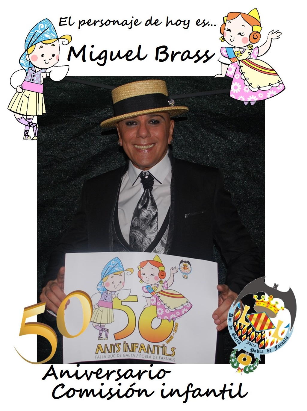 Personaje del día: Miguel Brass
