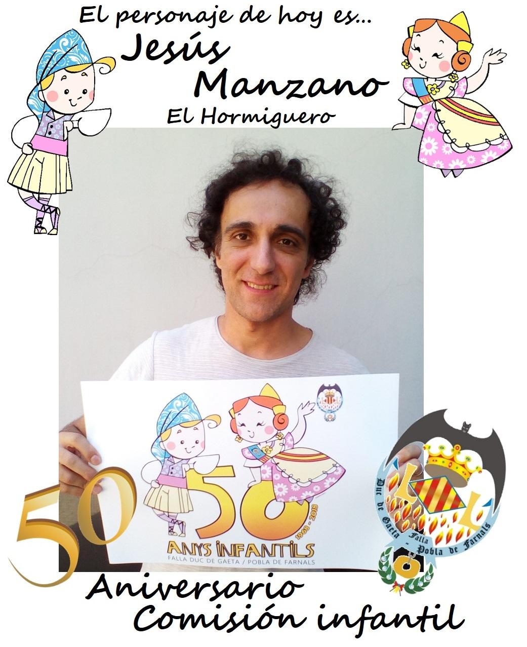 Personaje del día: Jesús Manzano