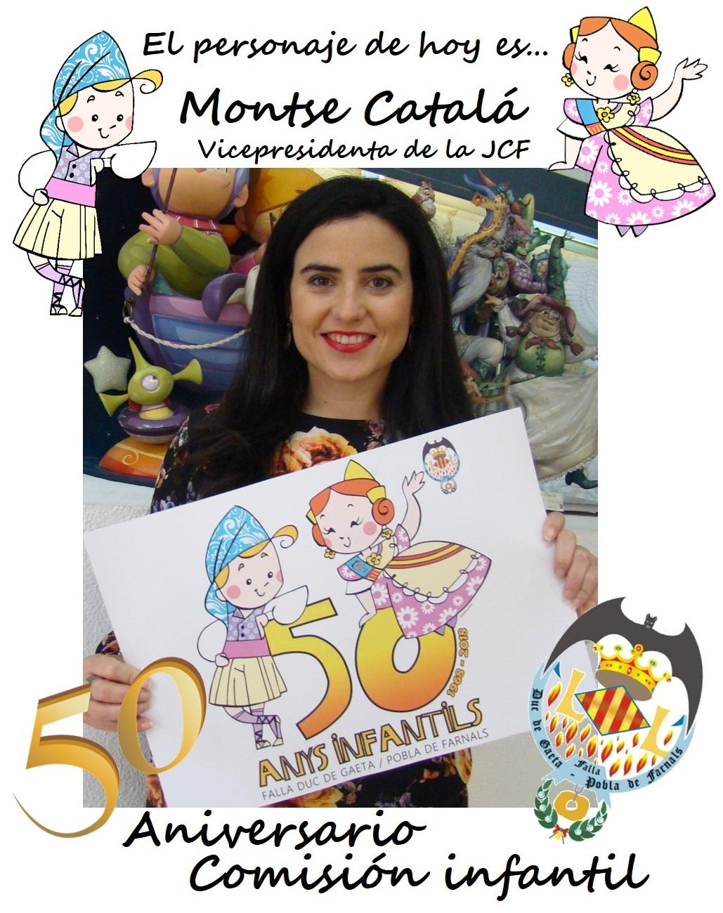 Personaje del día: Montse Catalá