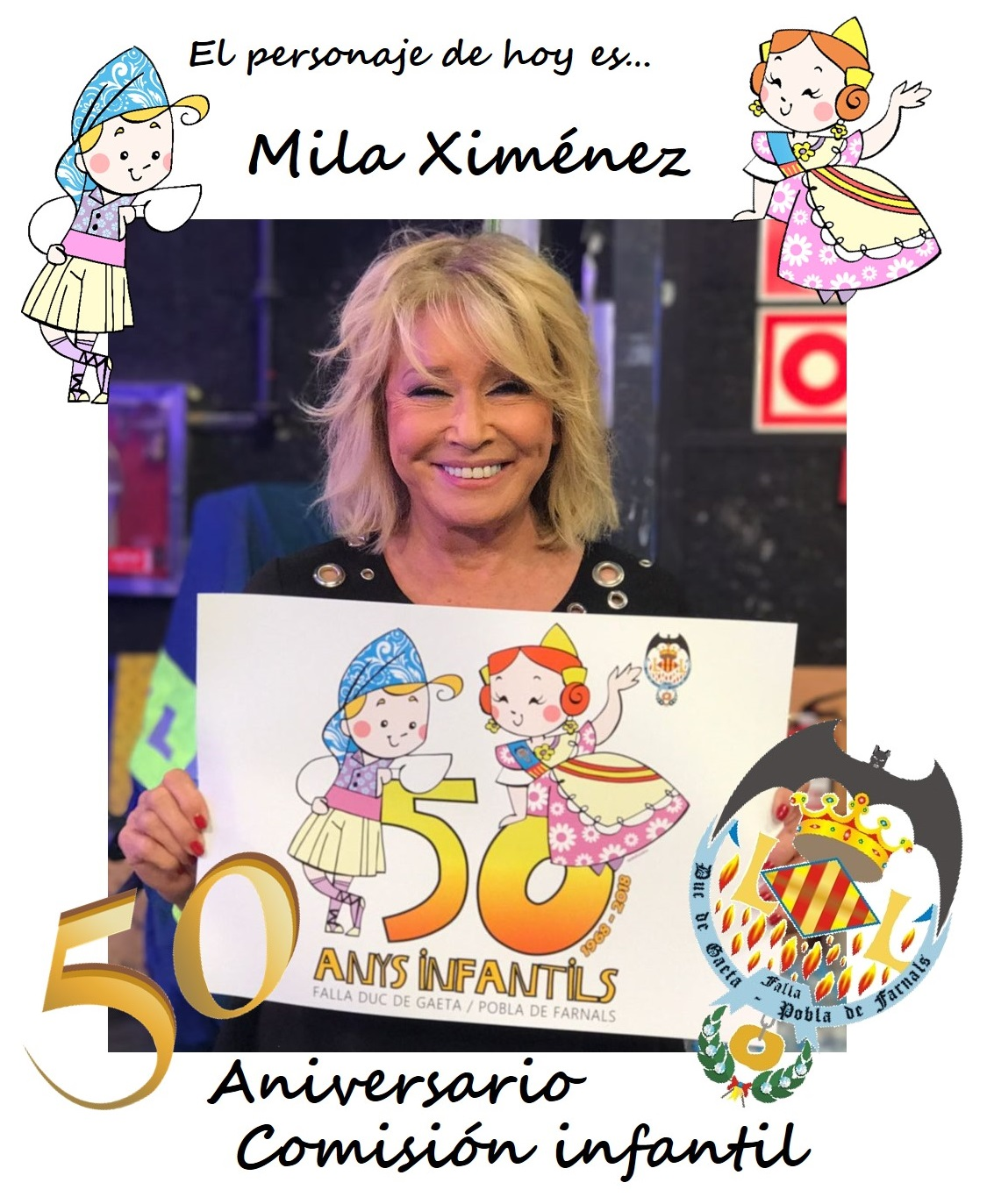 Personaje del día: Mila Ximénez