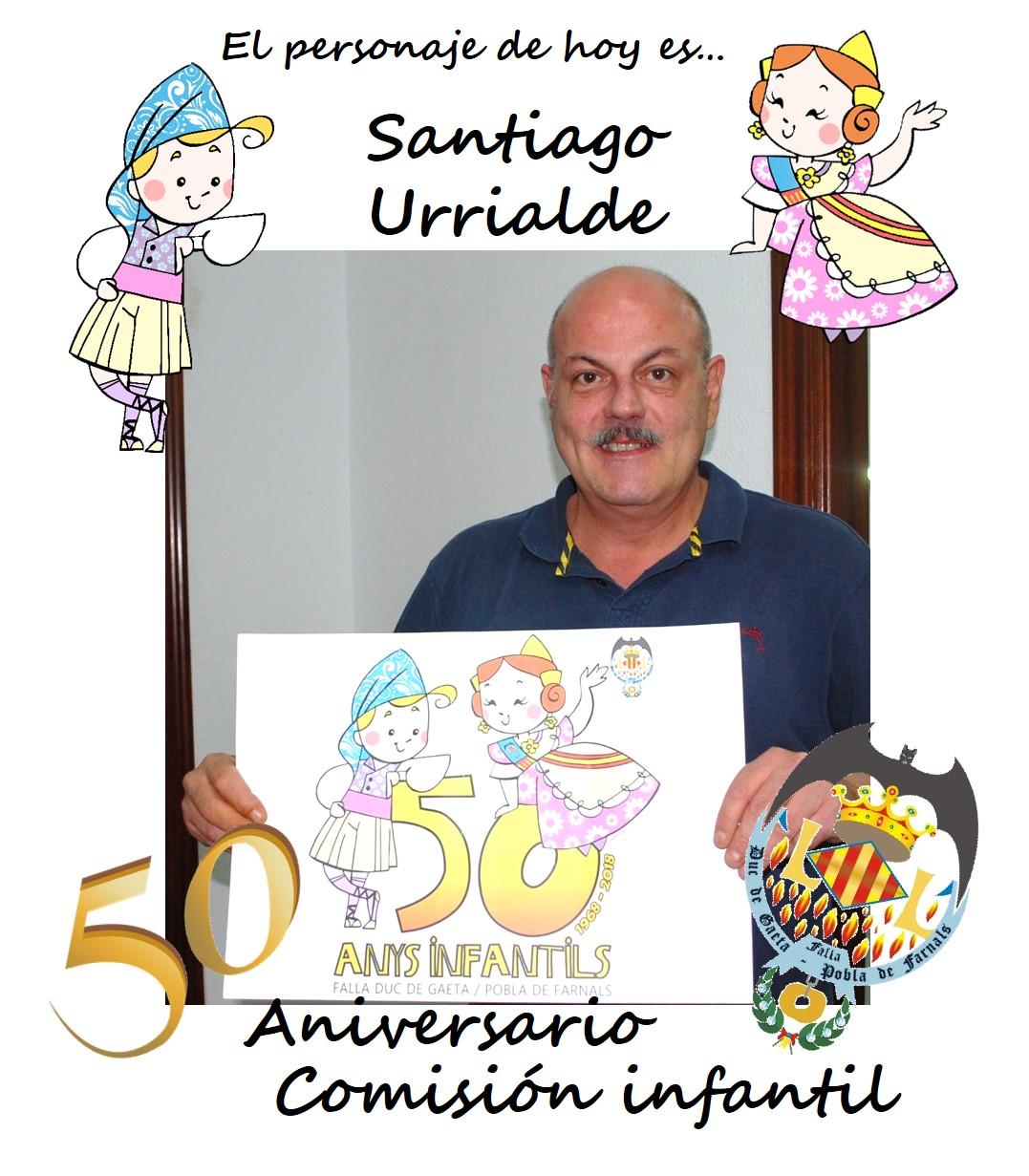 Personaje del día: Santiago Urrialde