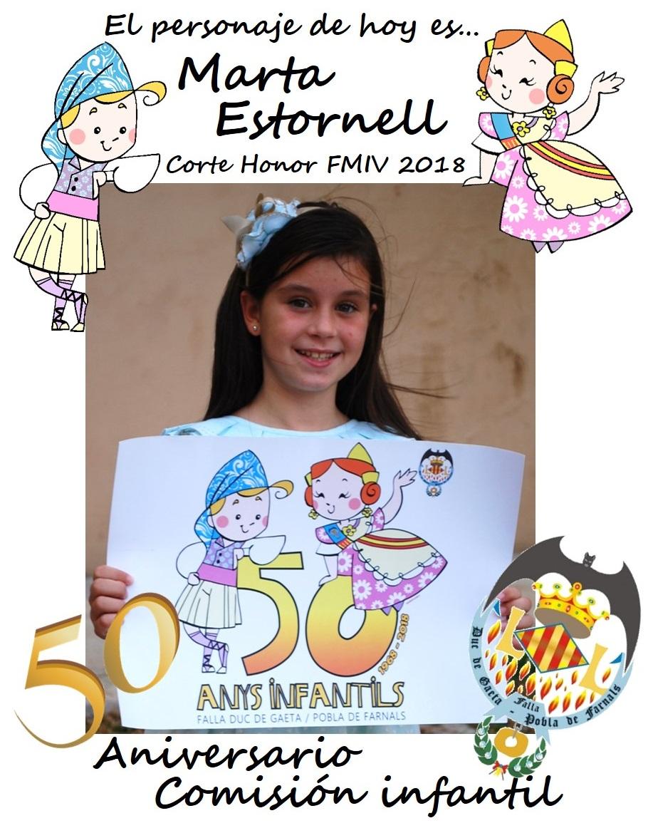 Personaje del día: Marta Estornell
