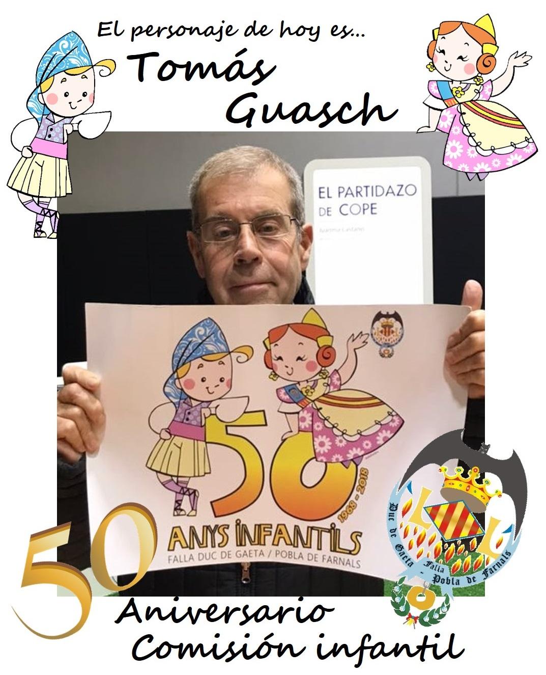 Personaje del día: Tomás Guasch