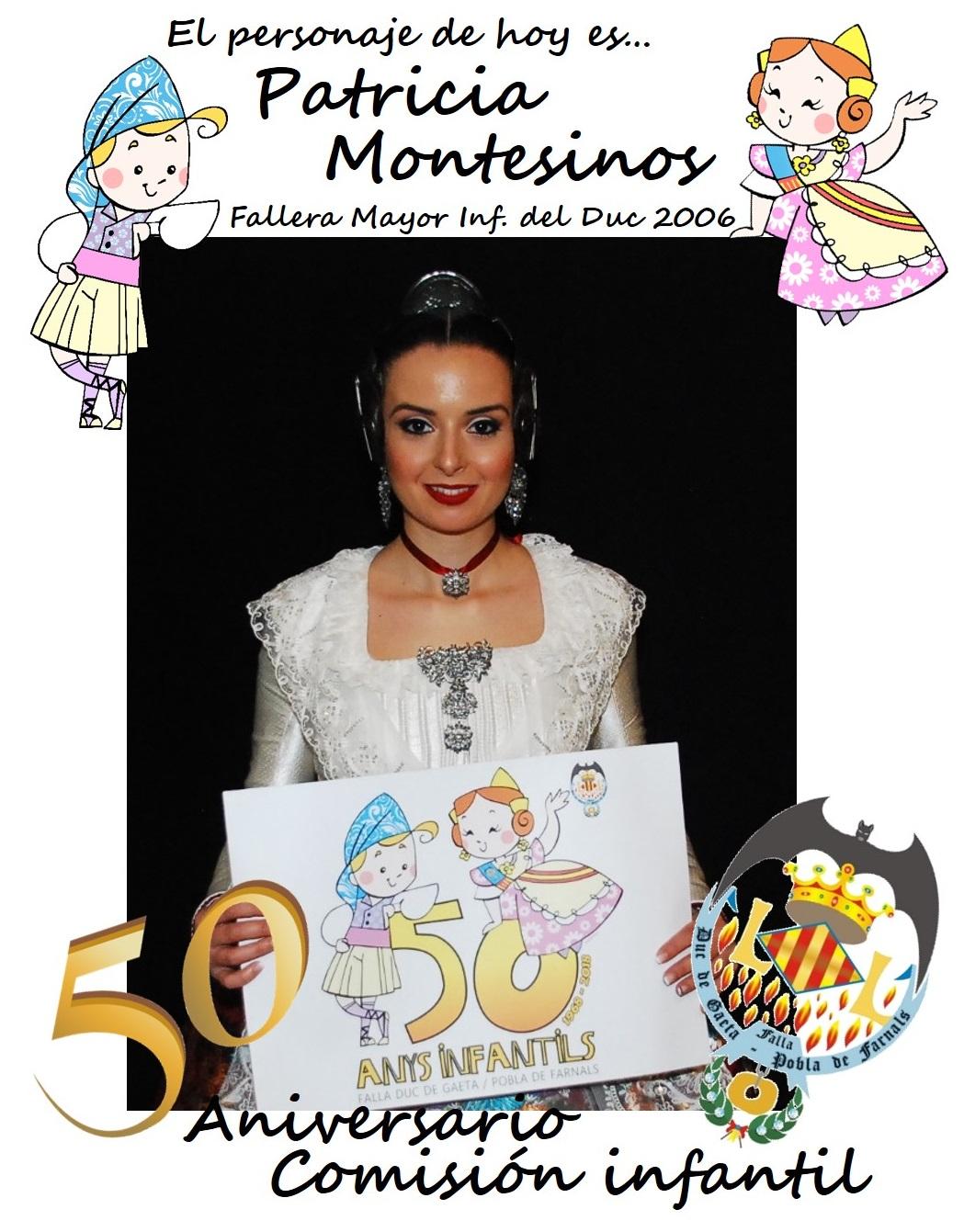 Personaje del día: Patricia Montesinos
