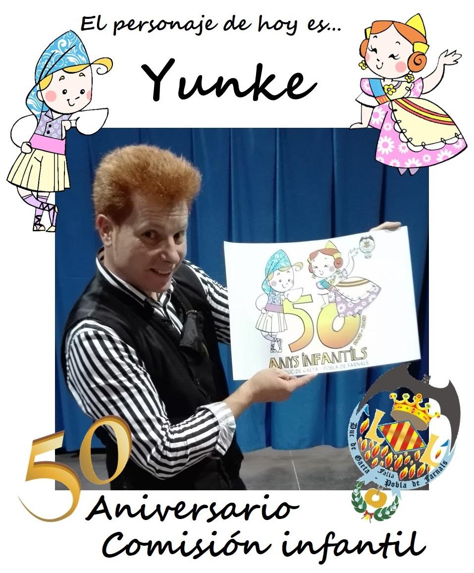 Personaje del día: Yunke
