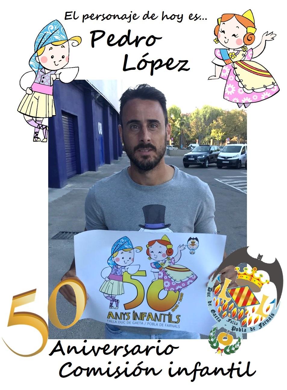 Personaje del día: Pedro López
