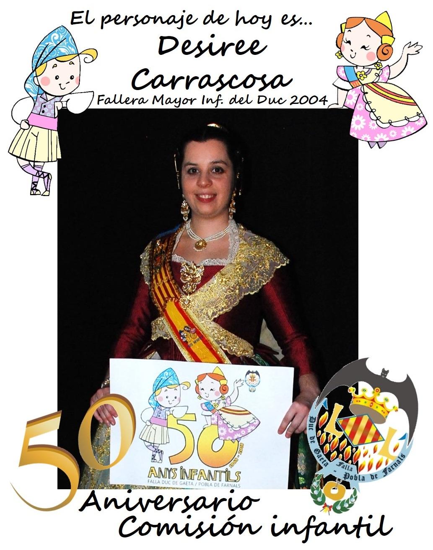 Personaje del día: Desiree Carrascosa