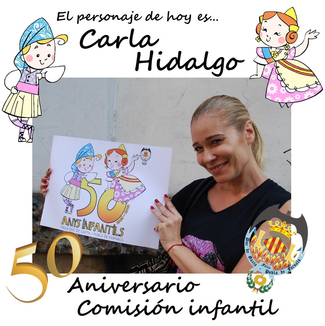 Personaje del día: Carla Hidalgo