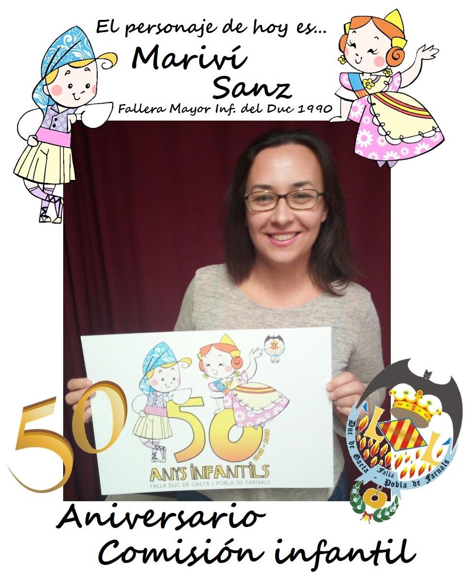 Personaje del día: Mariví Sanz