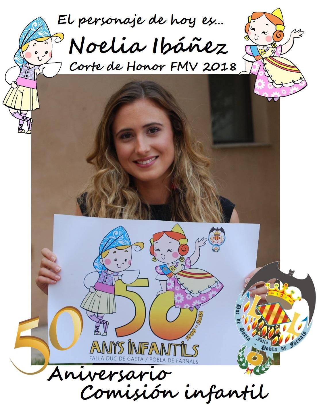 Personaje del día: Noelia Ibañez