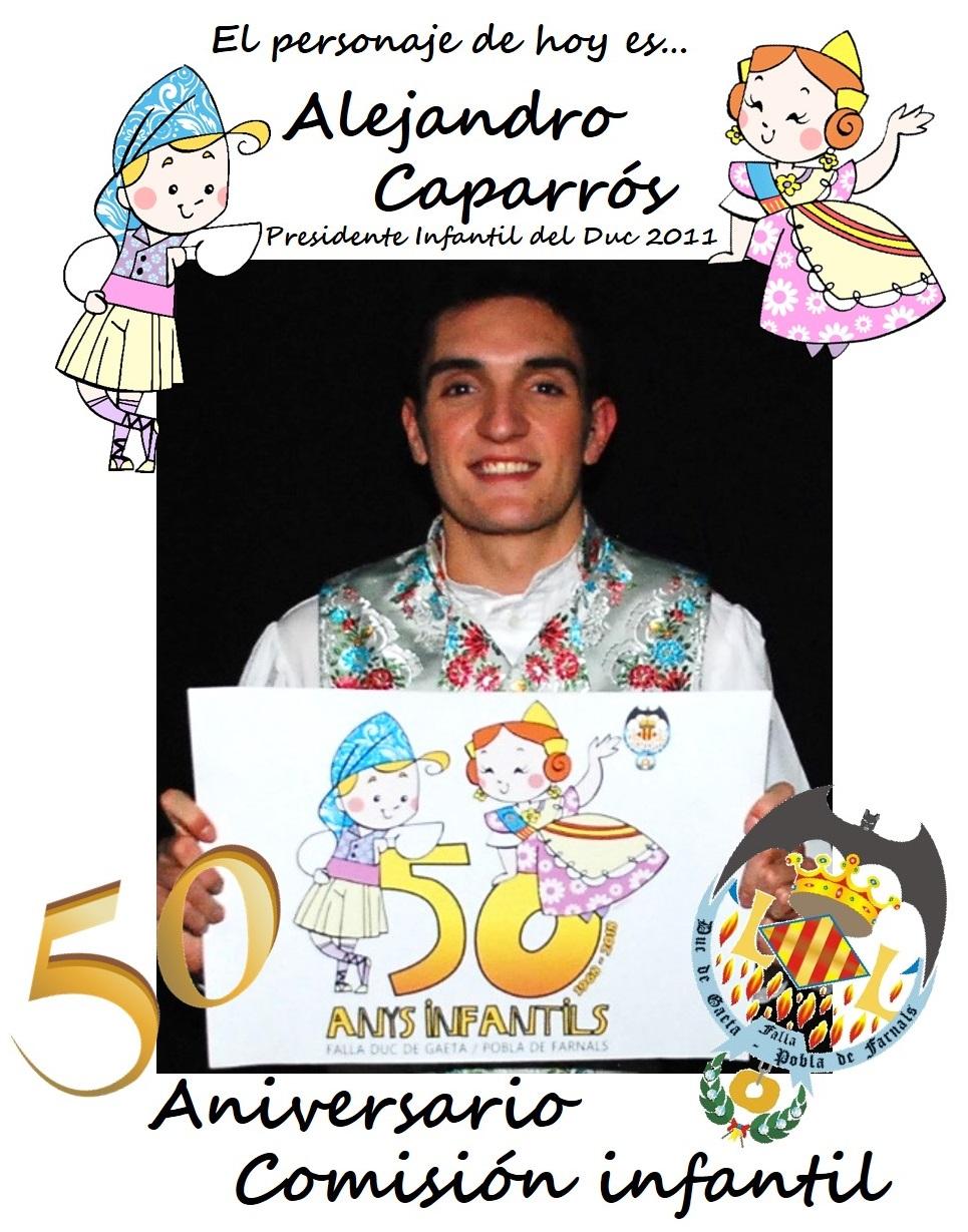 Personaje del día: Alejandro Caparrós