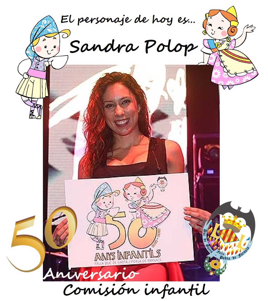 Personaje del día: Sandra Polop @SandraPolopN @sandrapolop