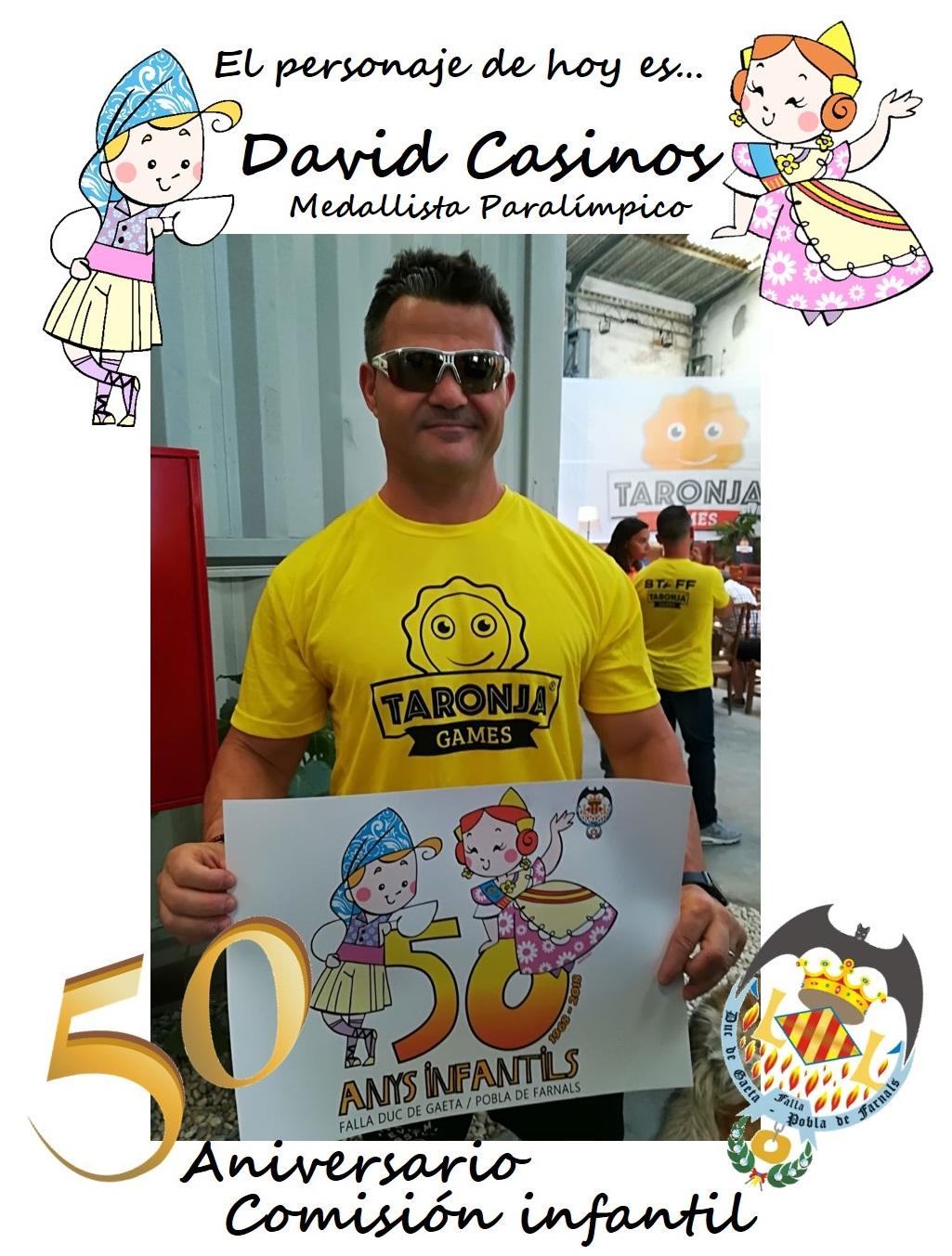 Personaje del día: David Casinos, medallista paralímpico
