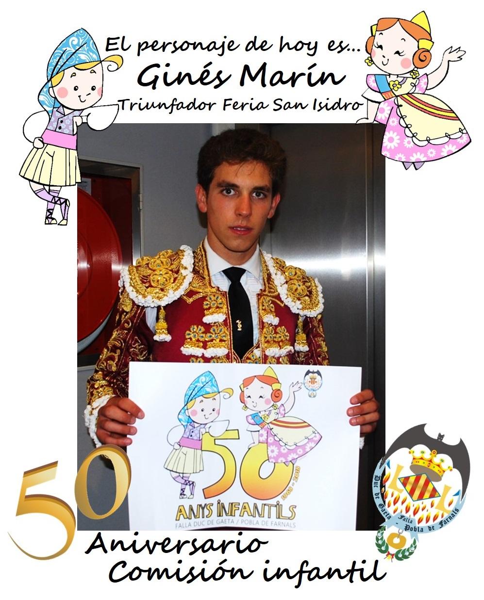 Personaje del día: Ginés Marín, torero