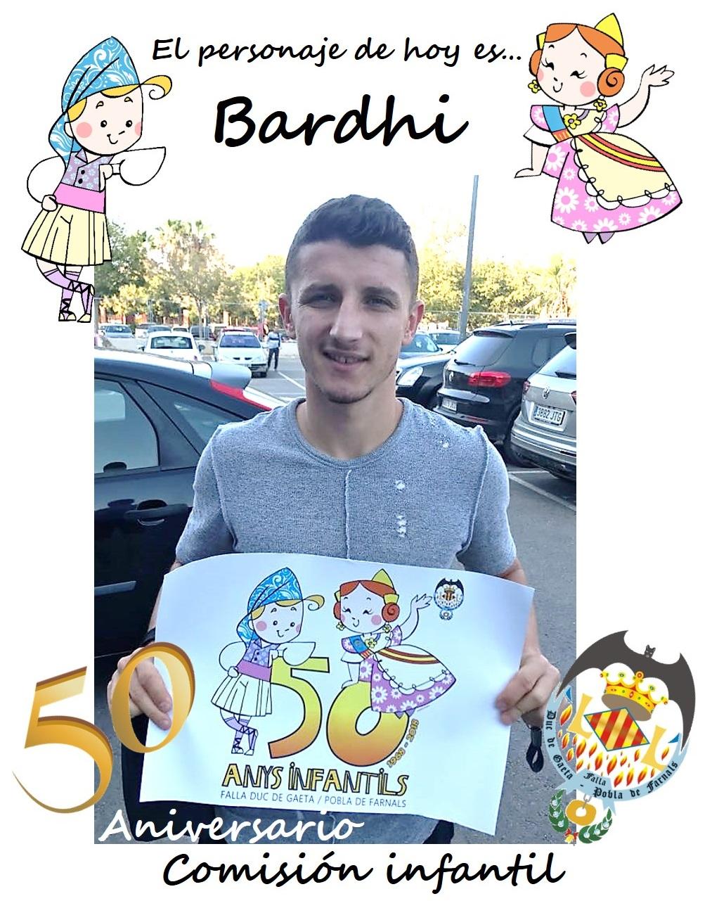 Personaje del día: Bardhi, jugador del Levante UD