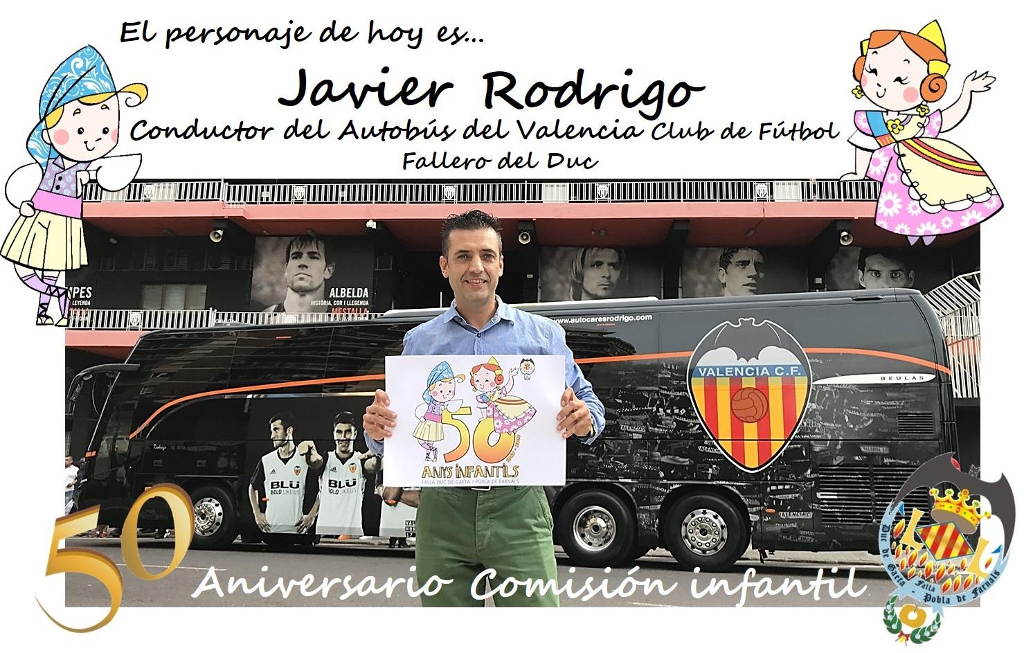 Personaje del día: Javi Rodrigo