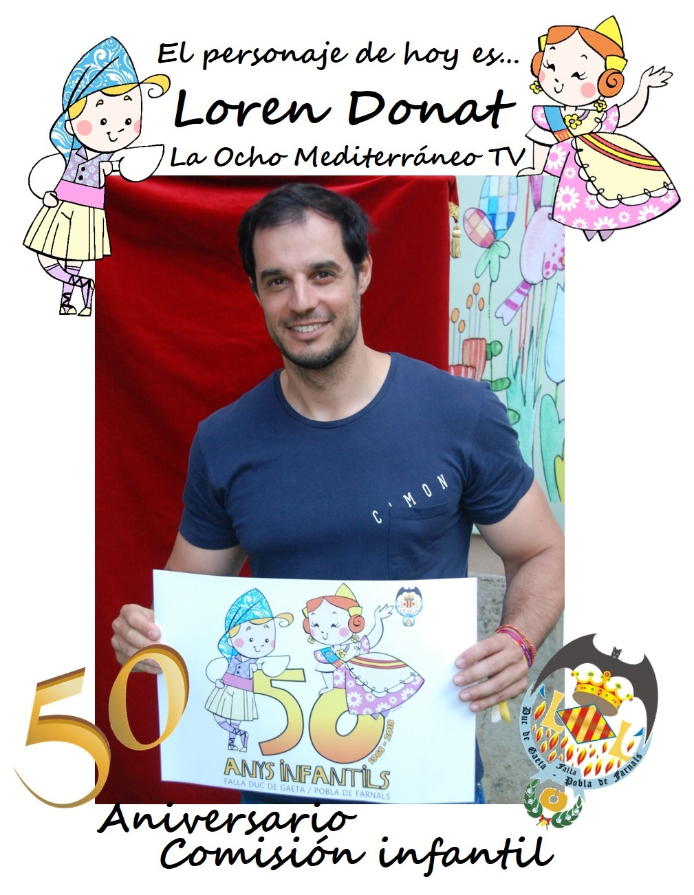 Personaje del día: Loren Donat