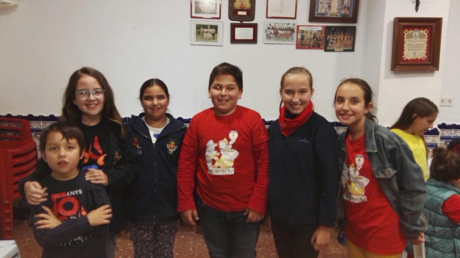 Comenzó el campeonato de parchís infantil de Camins al Grau