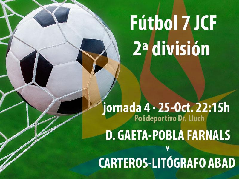 Nuestro equipo de Fútbol 7 buscará esta noche una nueva victoria