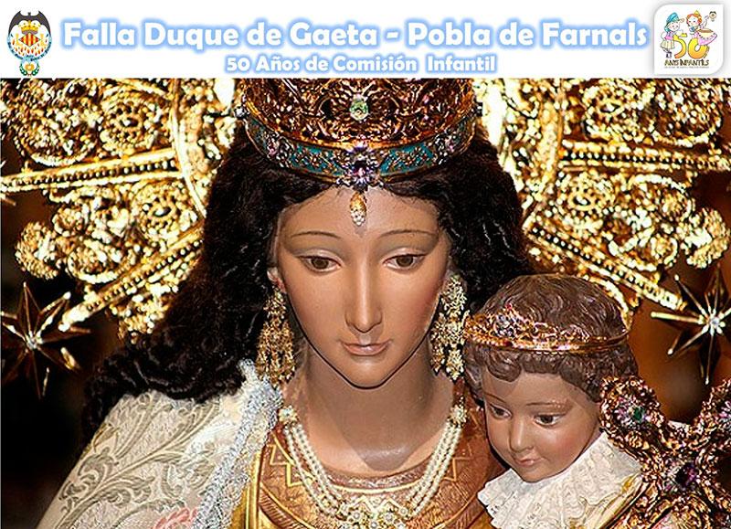 Comienzan los actos de la visita de la Virgen de los Desamparados