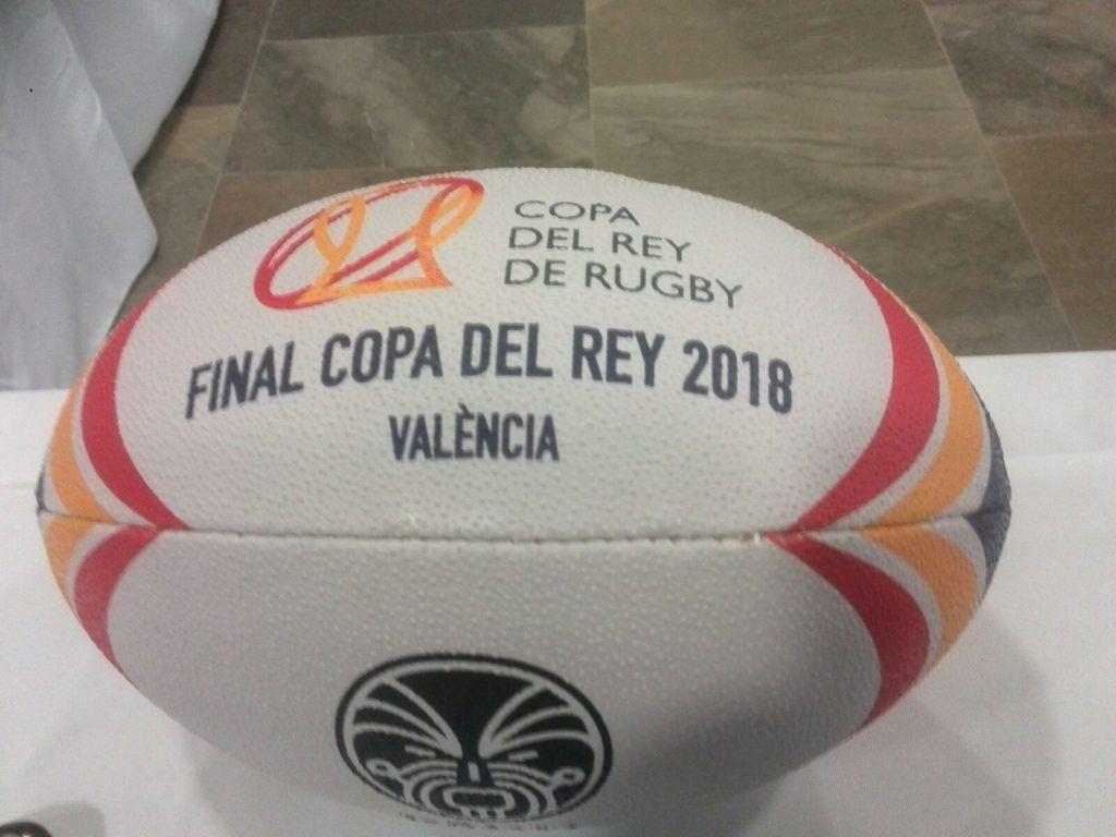 El Duc de Playback infantil en la Final de la Copa del Rey de Rugby