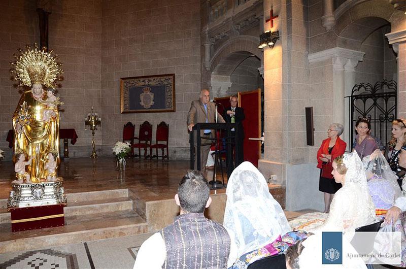 Nuestros representantes participan hoy en el Besamanos a la Virgen de los Desamparados