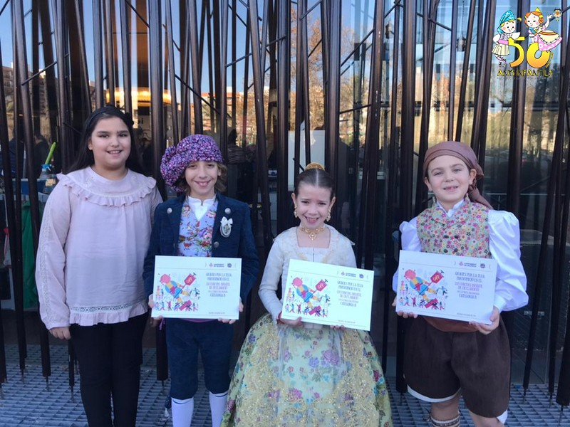 Nuevo éxito en el concurso de declamación infantil de la JCF