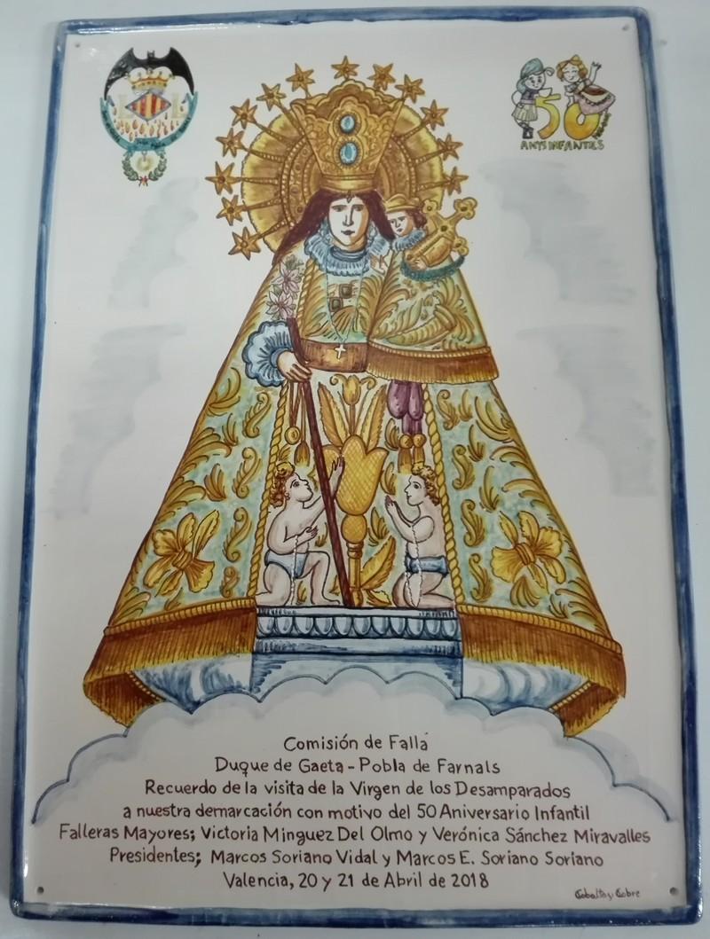 Cerámica valenciana para recordar una visita inolvidable