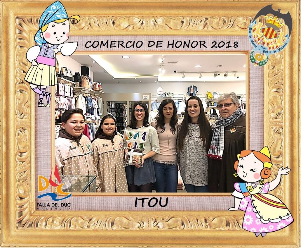 COMERCIOS DE HONOR 2018: ITOU