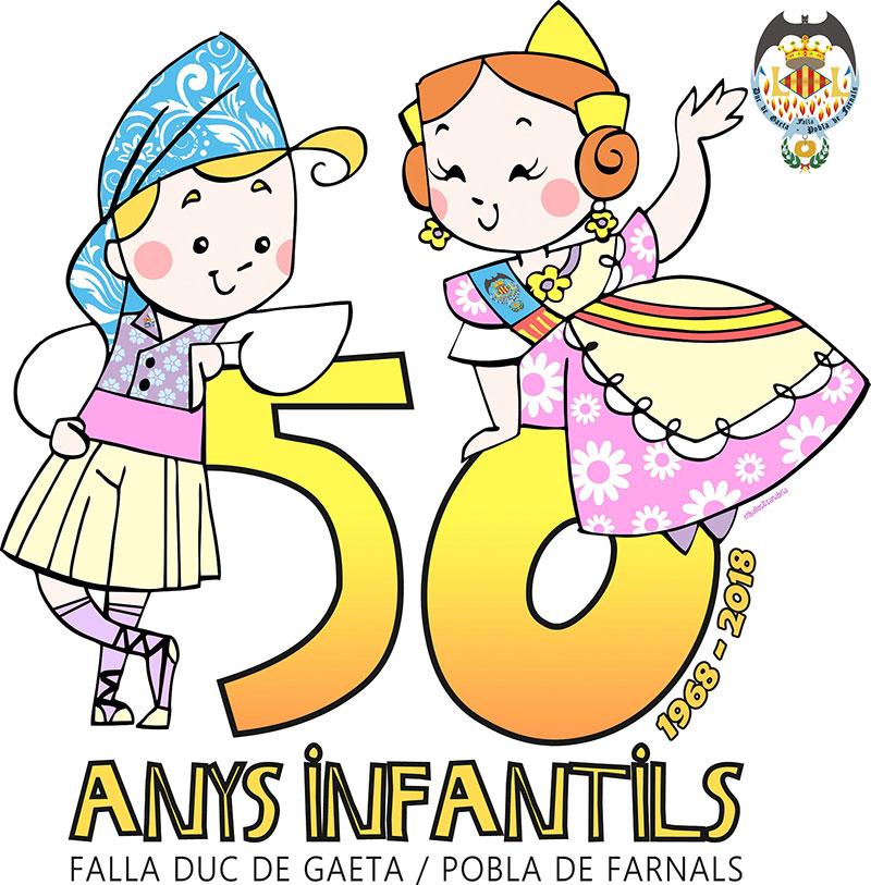 50 anys INFANTILS DUQUE de Gaeta